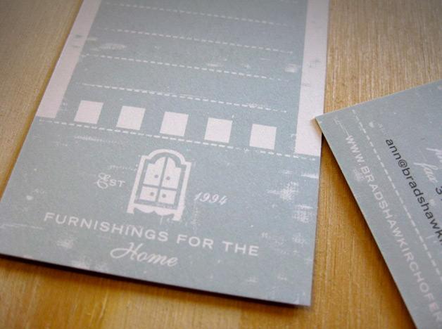 Bradshaw Kirchofer print design business card