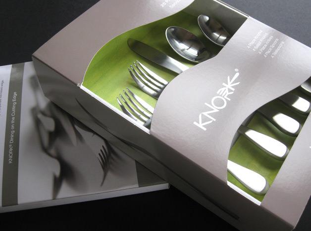 & Knork Flatware Printed Items